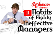 11 Habits of Highly Ineffective Managers | Business, Social Media, Technology and more – Appitive.com – Your Daily Ap...