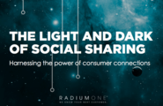 The Light and Dark of Social Sharing - Dark Social - @radiumone