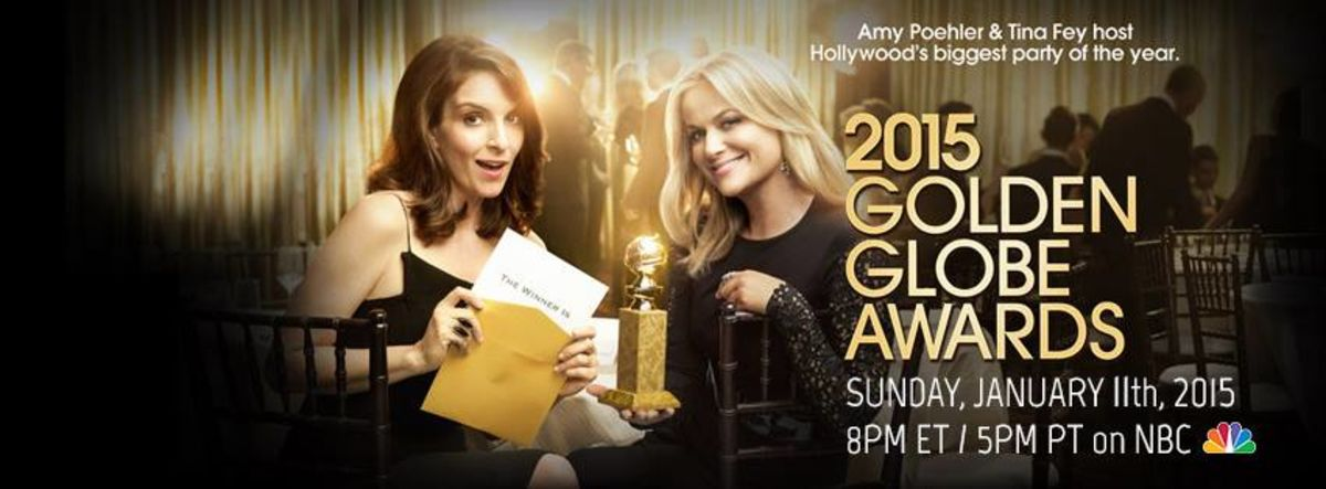 Headline for Golden Globe Awards 2015 Winners!