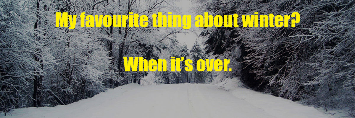 Headline for 11 Things I Hate About Winter