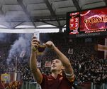 Totti's Goal Celebration: A Selfie