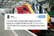 This Teen Needed Toilet Roll While Doing A Poo On A Train And Twitter Saved Him
