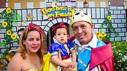 Elienne's 1st birthday snow white party