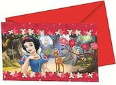 Snow White Party Invitations - at PartyWorld Costume Shop