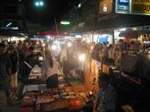 Chiang Rai Night Bazar – Jet Yod Road