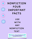 Teacher Park: NonFiction Text Four Important Facts