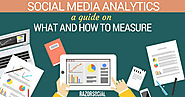 Social Media Analytics:  A Guide on What and How to Measure