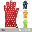 Exclusive: Women's Silicone Oven Gloves (1 Pair). Finally! Oven Mitts/Pot Holders Designed Specifically to Fit Ladies...