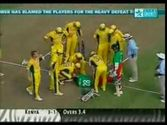 Brett Lee Hat trick vs Ken 2003 World Cup
