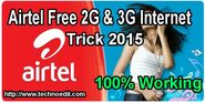 Airtel Free Internet Trick For 2G & 3G GPRS Working 2015