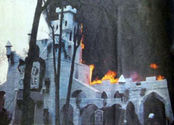 Six Flags' Haunted Castle Attraction
