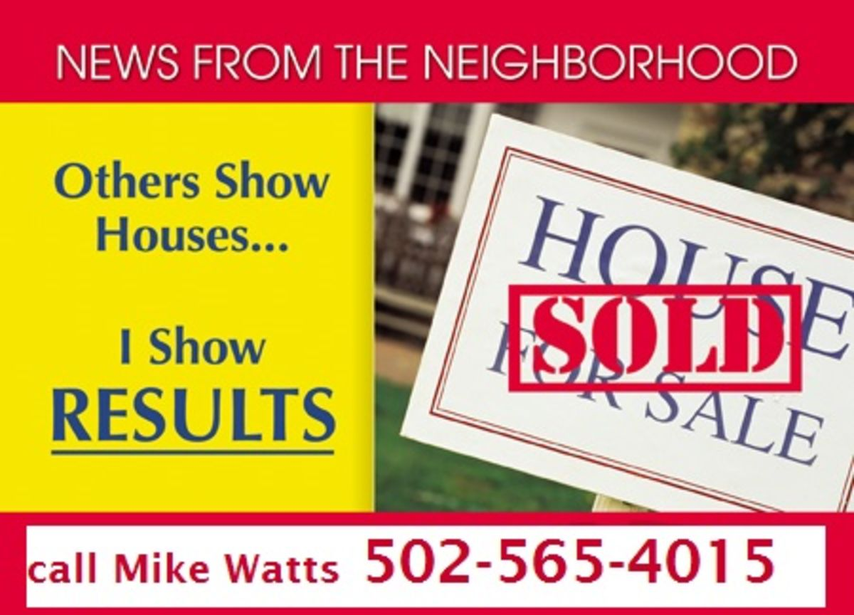 Headline for Homes Real Estate Louisville KY