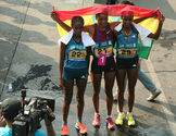 Marta Megra (3rd Place Women's category- Ethiopia)