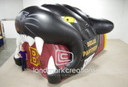 Panthers Inflatable Sports Tunnel