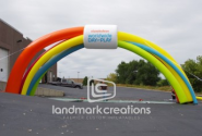Nickelodeon Worldwide Day of Play Inflatable Arch
