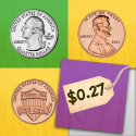 Count Money - Coin Matching Game for Kids By GrasshopperApps.com