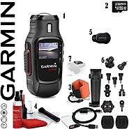 Garmin Virb POV HD 1080p 30fps 16MP Wearable Camera with ANT+ & 1.4 Chroma LCD Screen (010-01088-00) (8GB Tempe)