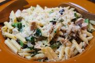Turkey and Kale Pasta Casserole