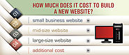 How Much Does It Cost To Build a New Website?