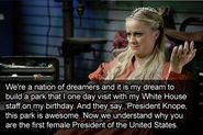 Leslie is a dreamer, and well on her way to achieving her dreams.