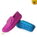 Women Leather Loafers Shoes CW300380 - cwmalls.com