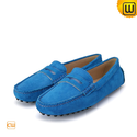Women Leather Moccasin Driving Shoes CW314014