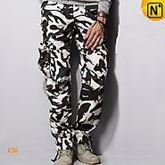Miami Mens Camouflage Cargo Pants CW100059