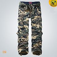 New York Mens Camo Cargo Work Pants CW100058