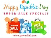 Republic Day Wishes from Goosedeals.Com