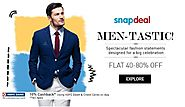 Men-Tastic! Flat 40-80% Off On Men's Fashion... Visit The Below Link For More http://goosedeals.com/home/details/snap...