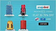 Flat 30% - 70% Off On Bags & Lugguage http://goosedeals.com/home/details/snapdeal/98293.html