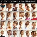 Learn new hairstyles.