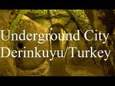 Turkey/Derinkuyu/Cappadocia (Underground City) Part 4 HD