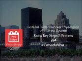 Federal Skilled Worker Expression of Interest System Canada