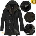 Hooded Shearling Sheepskin Coat CW878135