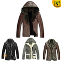 Sheepskin Shearling Jacket for Men CW141425