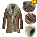 Shearling Fur Coat for Men CW868565