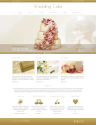 Wedding Cake Joomla! Template 44444