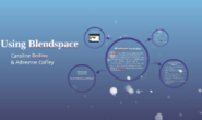 Using Blendspace by Caroline and Adrienne