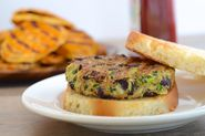 Zucchini and Black Bean Vegan Veggie Burgers