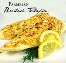 Parmesan Broiled Tilapia Recipe