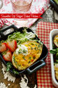 Egg-Stuffed Sweet Potatoes Recipe