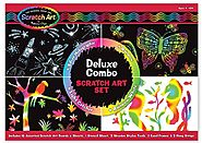 Melissa & Doug Deluxe Combo Scratch Art Set (Age 4-10)