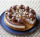 Ferrero Rocher Pie