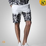 Rome Mens Floral Summer Shorts CW140435