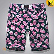 Paris Mens Floral Cargo Shorts CW140433