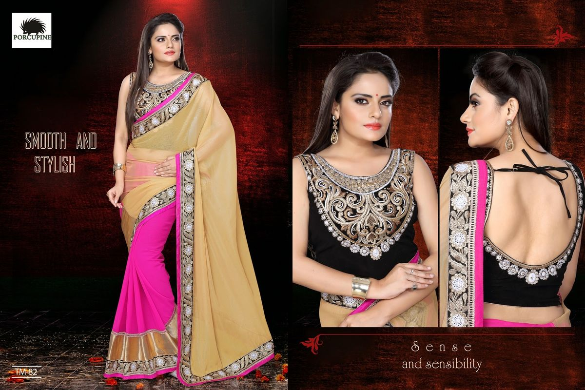 Headline for New Collection OF Designer Sarees Are Furnished On Indiarush For Every Occasion
