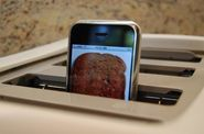 iPhone in a Toaster