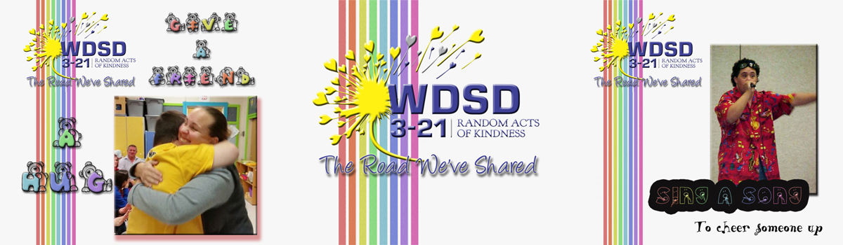 Headline for Ideas for #WDSD15 World Down Syndrome Day 2015 Random Acts of Kindness