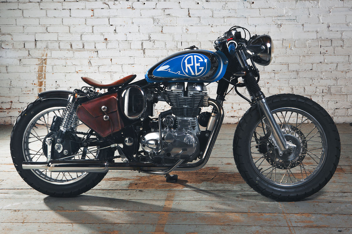 Headline for Who's Talking About the Royal Enfield Bullet Beach Bobber by MotoVida